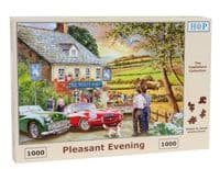 Pleasant Evening - 1000 Pieces|House of Puzzles
